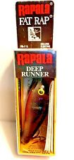 "Vintage (Finland) Rapala Silver Fat Rap Deep Runner 2.75"" Fishing Lure (#FR-7 S)"