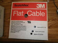 3M Cable Number: 3801/40 Flat Ribbon Cable, 100 Ft.  New Old Stock <