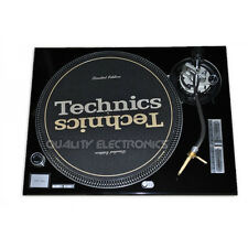 Technics Face Plate for Technics SL1200MK2/SL1210MK2 Turntable- Black, Faceplate