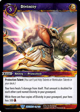 WOW WARCRAFT TCG WAR OF THE ANCIENTS : DIVINITY X 3