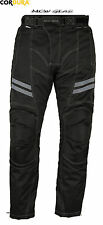 Men's Motorcycle Motorbike Waterproof Trousers Pants Armour Protect All Sizes
