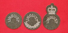 Canadian Army Trade Badges - LINGUIST - Group  1,2,3