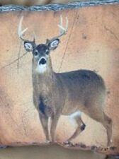 """16"""" Indoor/Outdoor Lodge Cabin Deer Woodland Decorative Pillow Northwoods Decor"""