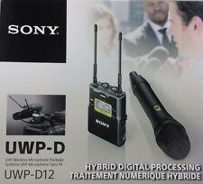 Sony - UWP-D12/30 - Integrated Digital Wireless Handheld Microphone ENG System