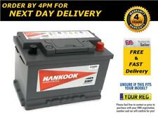096 Hankook Heavy Duty 12V 72Ah Car Battery fits many BMW Citroen Fiat Merc
