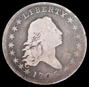 1795 SILVER FLOWING HAIR HALF DOLLAR