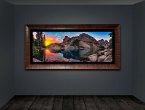 "Limited Edition Art Photo, Gubski ""Distant Fire"" Peter Lik style"