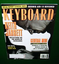 Keith Jarrett, Bob Moog Tom Rhea Obscure Electronics in 1993 Keyboard Magazine