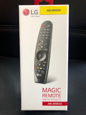 NEW IN BOX NIB SEALED LG MAGIC REMOTE CONTROL AN-MR650 VOICE MATE 2016