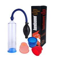 Man Penis Pump Extender Enlarger Stretcher Pump + Erection Aid SEX Tool Hot sell