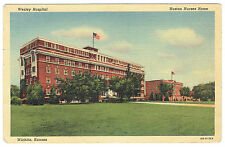 Wichita Kansas Wesley Hospital Huston Nurses Home