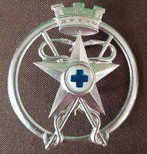WWI WW2 Fregio Ufficiale Veterinario Esercito Italiano Orig. Bomisa