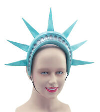 STATUE OF LIBERTY HEADBAND RUBBER NEW YORK FANCY DRESS