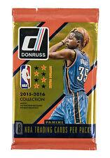 NBA Panini Donruss Basketball Cards 2015/16 Retail Pack