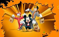 "Mickey & Friends Halloween 2""x3"" Flexible Fridge Magnet"