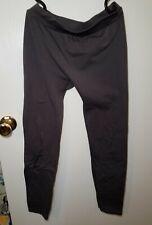 Charlotte Russe Leggings, Fleece lined, gray, size Medium/Large