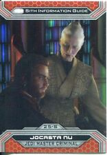 Star Wars Chrome Perspectives II Gold Parallel Base Card 25-S Jocasta Nu