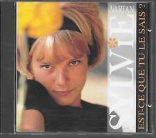 CD COMPIL 30 TITRES--SYVIE VARTAN--EST CE QUE TU LE SAIS ?