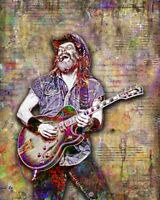 Ted Nugent 12x18inch Poster TED NUGENT Tribute Print Free Shipping US