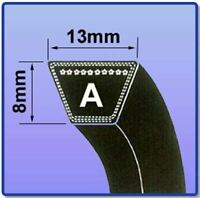 A Section Wrapped A48 - A77 HIGH QUALITY BRANDED Wrapped V Belts - Choose Size