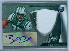 BILAL POWELL 2011 TOPPS PLATINUM REFRACTOR RC ROOKIE PATCH AUTO AUTOGRAPH SP/356