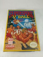 Super spike v ball nintendo nes original game with box made in japan nice look