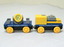 Thomas Wooden Railway, SODOR POWER COMPANY SET, 2003, EUC