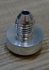 AN4 -AN4 Aluminium weld on fitting / bung JIC dash 4