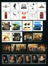 GB QEII YEAR 2009 COMPLETE FOR COMMEMORATIVE SETS, U/MINT, AT FACE