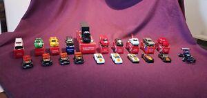 20 x Vintage 1980s CORGI MATCHBOX Diecast Model Vehicles inc. BMW, PORSCHE, etc.
