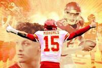 239789 Patrick Mahomes Chiefs NFL WALL PRINT POSTER US