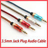 3.5mm Auxiliary Cable Audio Cable Male To Male Flat Aux Cable 1m High Quality