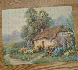 1930's Finesse Picture Puzzle 250 Pieces 11X14 Dear Old memories Interlocking