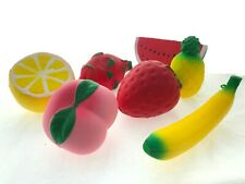 7 Pieces Slow Rising Toy Stress Relief Toys Adults Children Polyurethane Foam