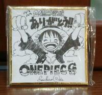 Eiichiro Oda Autograph Shikishi Limited 1500 Mini Paper Board One Piece