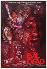24X36Inch Art EVIL DEAD Movie POSTER Rare Horror Gore Bruce Campbell Zombies P7