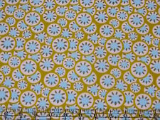 Amy Butler Daisy Chain Kalidoscope Dots Olive Fabric BHY