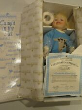 "Ashton Drake Little Stevie Catch Me If You Can 13"" Porcelain Doll Mary Tretter"