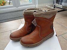 BNIB Rieker Antistress fleece lined ankle boots size 4