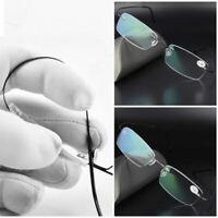 Unisexe ulm les lunettes mémoire du titane des lunettes des lunettes de lecture