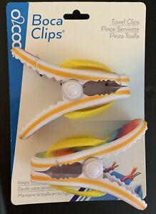 Super Cute Flip Flop Clips Cool Boca Towel Clips Towel Holders Set Chip Clip