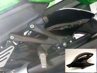 Kawasaki ZZR1400 & ZX14 all years Gloss Black Hugger by Pyramid Plastics