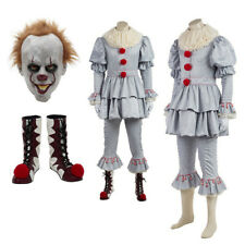 Pennywise Cosplay Costume Clown Costume Customized Halloween Cosplay Suit HOT