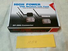 High Power USB Wireless Lan Card RP-SMA Connector