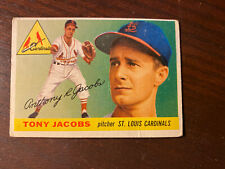 1955 Topps #183 Tony Jacobs St. Louis Cardinals High Number Original