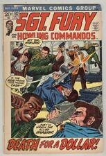 Sgt. Fury #102 September 1972 VG