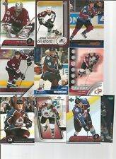 1991-2005/06 COLORADO AVALANCHE AND SOME NORDIQUES 250+ CARD LOT NO DUPS