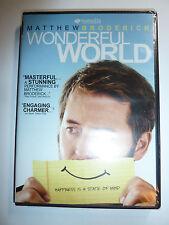 Wonderful World DVD indie drama movie Matthew Broderick Jodelle Ferland NEW!