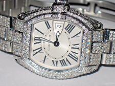 Womens Cartier Roadster Diamonds Everywhere