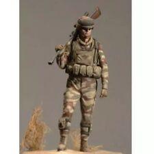 1/24 75mm Resin FIgure Model Kit Modern Soldier Sniper NATO Unpainted Unassamble